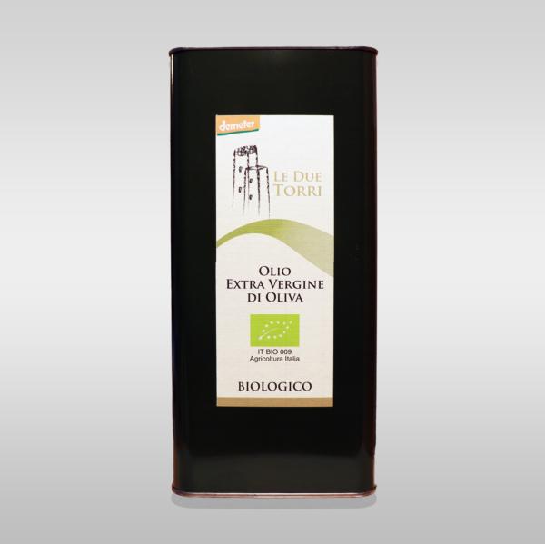 Olio Extra vergine biologico Demeter 5l